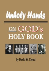 Unholy Hands on God's Holy Book
