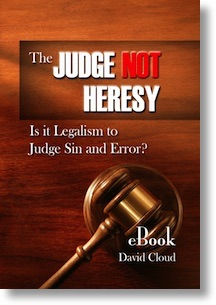The Judge Not Heresy