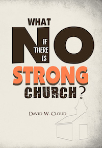 Photo of Book, What if the is No Strong Church?