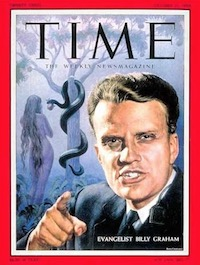 Billy Graham on cover of Time